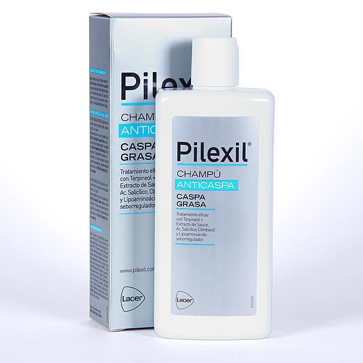 Pilexil Anticaspa Champú caspa grasa 300 ml