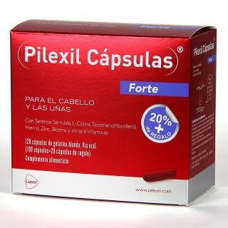 Pilexil Forte Cápsulas anticaída 100 cápsulas + 20 cápsulas de regalo