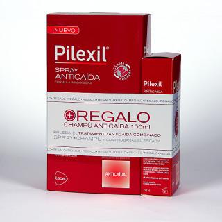 Pilexil Spray Anticaída 120 ml + champú anticaída 150 ml de regalo