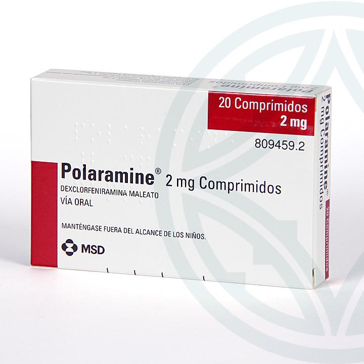Polaramine 2 mg 20 comprimidos