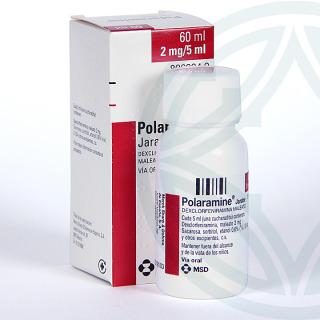 Polaramine 2 mg/5 ml jarabe 60 ml