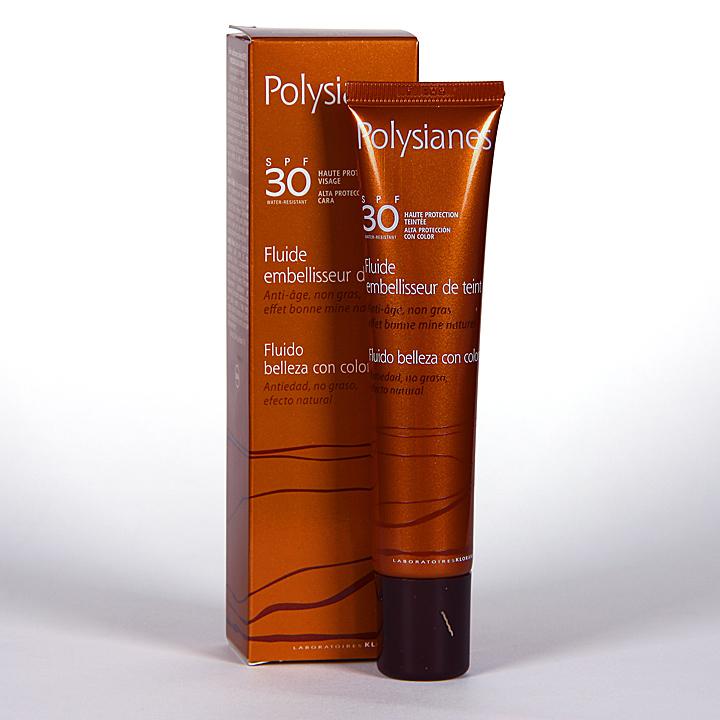 Polysianes Fluido Belleza con color SPF30 40ml