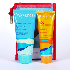 Polysianes Gel Nacarado SPF 30 + Gel Fresco Calmante Gratis Pack Neceser