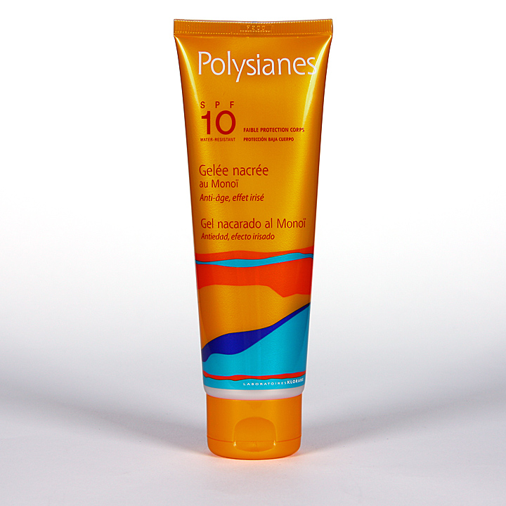 Polysianes Gel Nacarado SPF10 125 ml