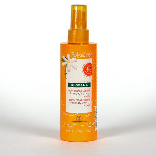 Polysianes Klorane Spray Solar Sublime SPF30 200 ml