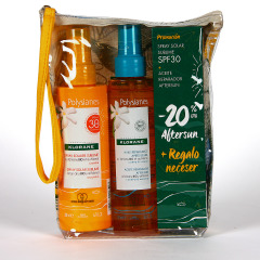 Polysianes Klorane Spray Solar Sublime SPF50 + Aceite Reparador After Sun Promo Pack 20%