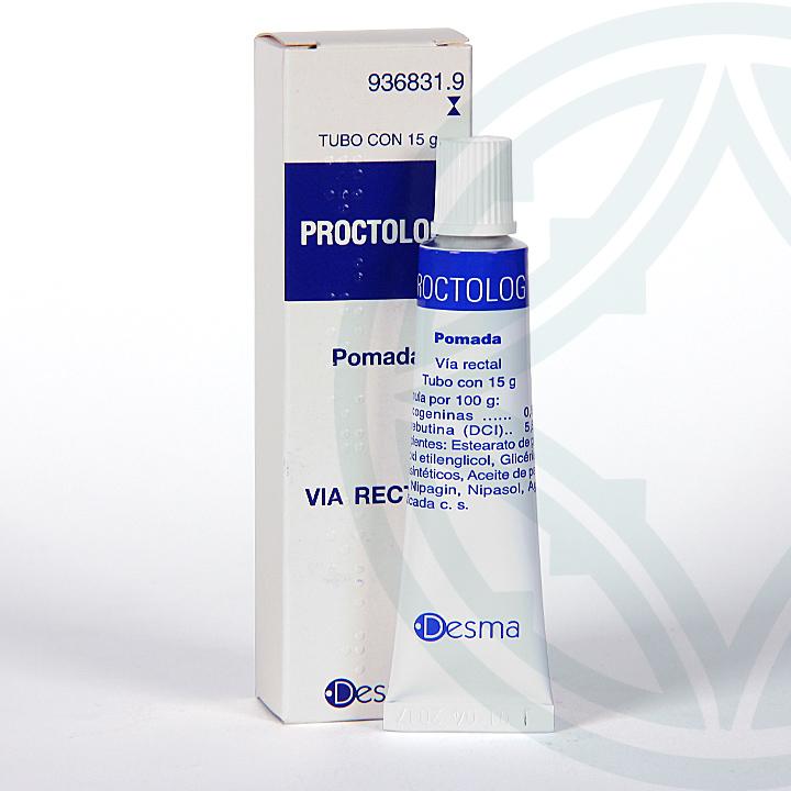 Proctolog pomada rectal 15 g
