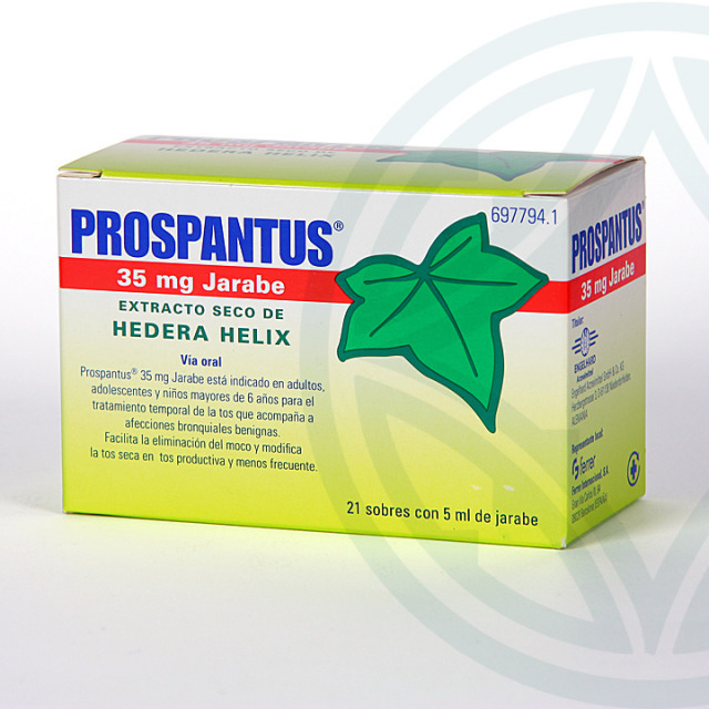 Prospantus 35 mg jarabe 21 sobres de 5 ml