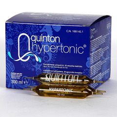 Quinton Hypertonic 30 ampollas bebibles 10 ml