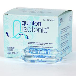 Quinton Isotonic 30 ampollas bebibles 10 ml