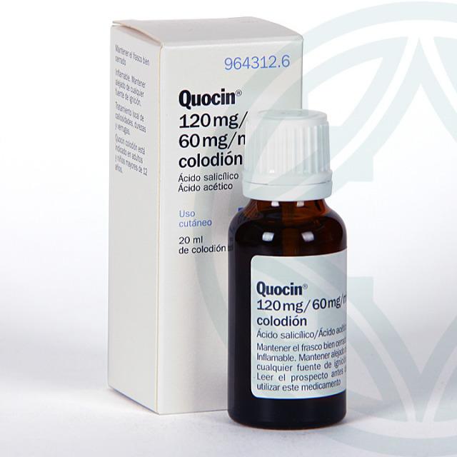 Quocin solución tópica 20 ml