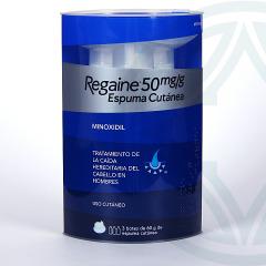 Regaine 50 mg/g espuma cutánea 180 g