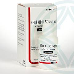 Regaxidil 5% 50 mg/ml Solución Cutánea 60 ml