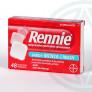 Rennie 48 comprimidos masticables con sacarosa