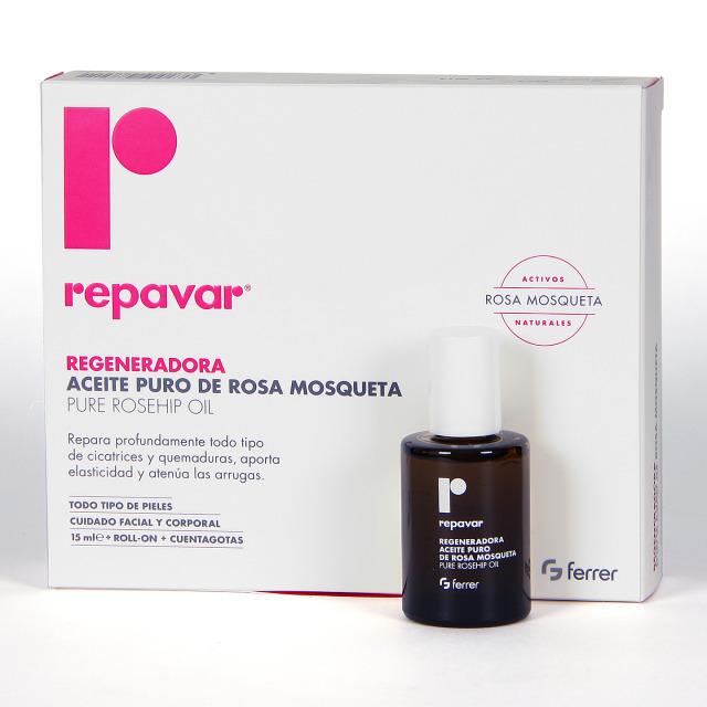 Repavar Aceite de Rosa Mosqueta 15 ml