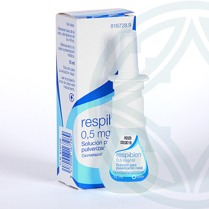 Respibien 0,5 mg/ml spray nasal
