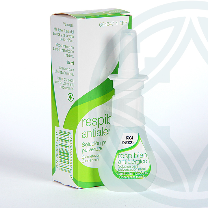 Respibien Antialérgico spray nasal