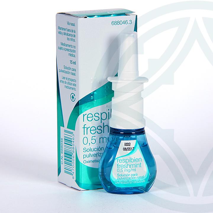 Respibien Freshmint 0,5 mg/ml spray nasal