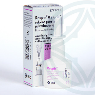 Respir 0,5mg/ml spray nasal 20 ml