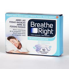 Rhinomer Breathe Right Tiras Nasales T Grande 10 unidades