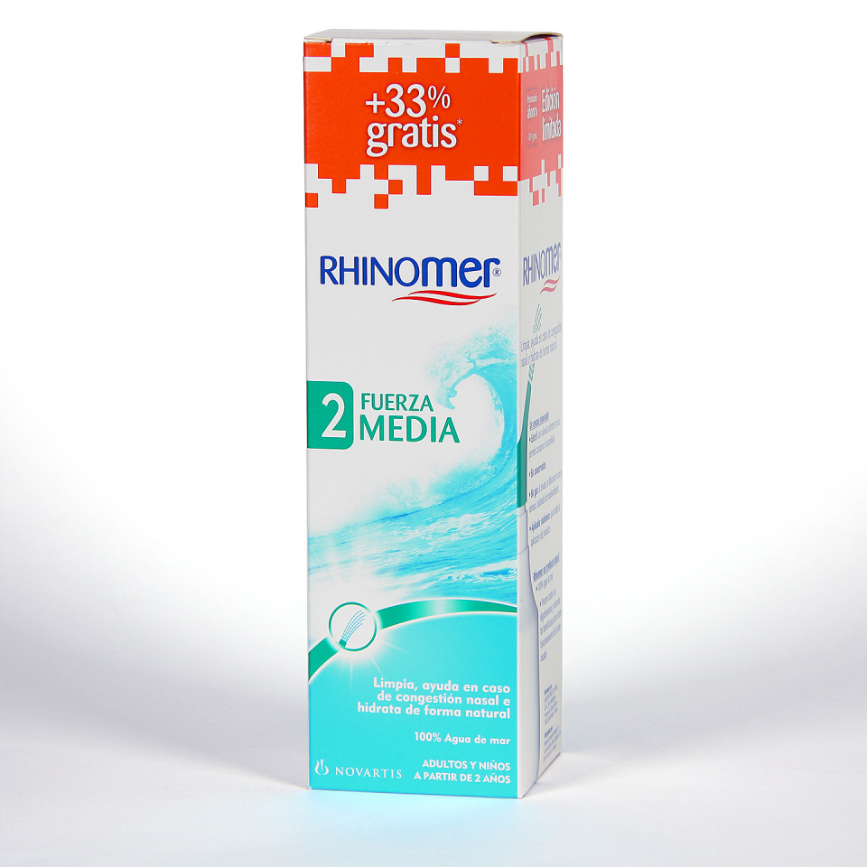 Rhinomer Fuerza 2 media + 33% gratis