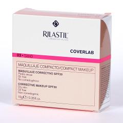Rilastil Cumlaude Coverlab Maquillaje compacto piel normal-seca Sand 03