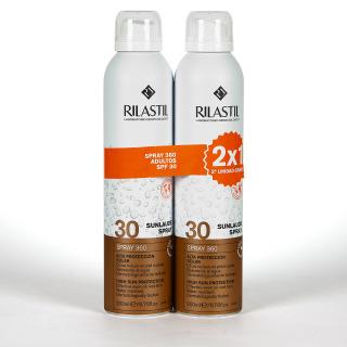 Rilastil Cumlaude Sunlaude SPF30 Spray Transparente 2x200 ml Pack Duplo