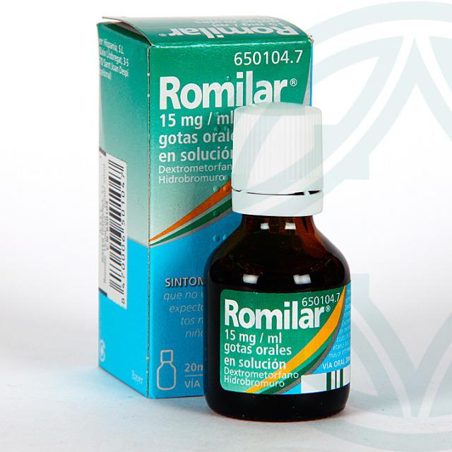 Romilar 15 mg/ml gotas orales 20 ml