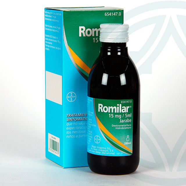 Romilar 3 mg/ml jarabe 200 ml