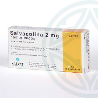 Salvacolina 12 comprimidos