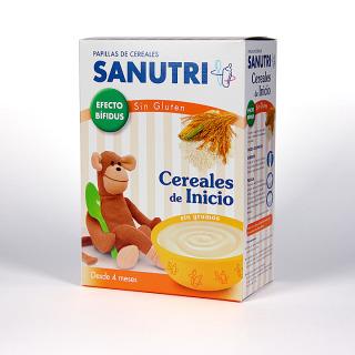 Sanutri Cereales de Inicio Sin Gluten Efecto Bifidus 600 g