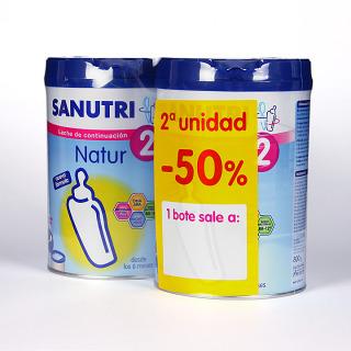 Sanutri Pack Natur 2 800 g 2ª unidad - 50 %