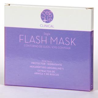 Segle Clinical Mascarilla Flash Contorno de ojos 4 unidades