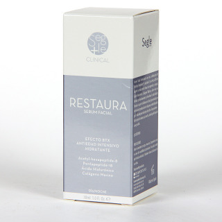 Segle Clinical Restaura Serum 30 ml + Mascarilla hidratante de regalo