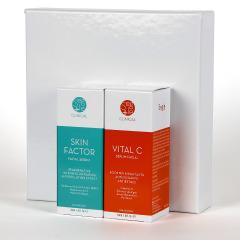 Segle Clinical Skin Factor Serum 30 ml + Vital C Serum 30 ml Pack Regalo