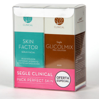 Segle Clinical Skin factor Serum + Glicolmix Solución exfoliante Pack
