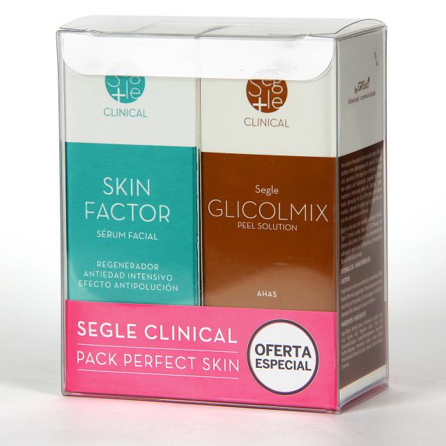 Segle Clinical Skin factor Serum + Glicolmix Solución exfoliante Pack