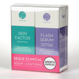 Segle Clinical Skin Factor Serum + Flash Serum Contorno de ojos Regalo