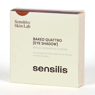 Sensilis Baked Quattro Sombra de ojos Tono 02 Mission Mars