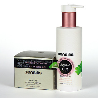 Sensilis Extreme Pack Crema antiarrugas SPF15 + Ritual care Mousse limpiadora de regalo