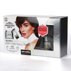 Sensilis Origin Pro EGF-5 Crema 50 ml + Minitalla Elixir de noche 20 ml Regalo Pack