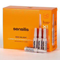Sensilis Skin Delight Ampollas Iluminadoras y Antioxidantes 15x1,5 ml