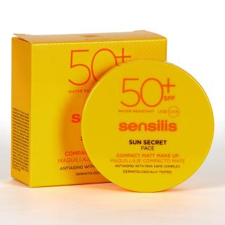 Sensilis Sun Secret Compact SPF50+ Tono 01 Natural 10g