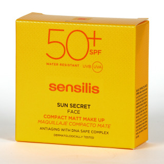 Sensilis Sun Secret Compact SPF50+ Tono 03 Bronze