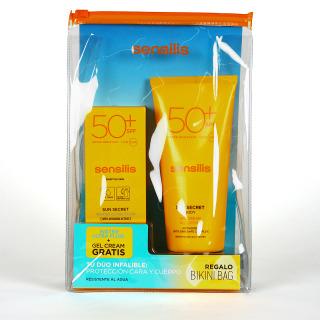 Sensilis Sun Secret  Water Ultra Fuid Pack Facial 40 ml + Corporal 200 ml