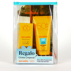Sensilis Sun Secret Ultra Fluido 100 SPF 50+ 40 ml + Sun Secret Gel crema SPF 50+ 200 ml Regalo
