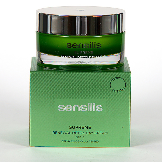 Sensilis Supreme Renewal Detox Crema Día 50 ml