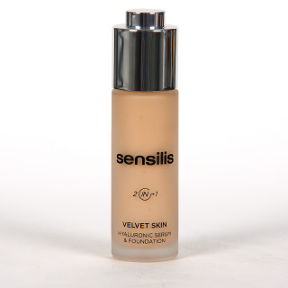 Sensilis Velvet Skin 2 IN 1 Serum con Color 01 Amande