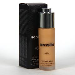 Sensilis Velvet Skin 2 IN 1 Serum con Color 02 Noix