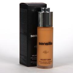 Sensilis Velvet Skin 2 IN 1 Serum con Color 04 Noisette